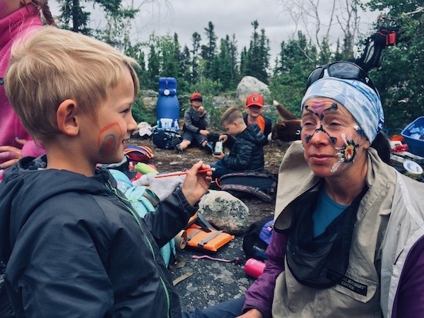 Family Camp Facepainting